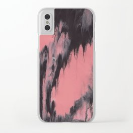 Abstract Acrylic 1 Clear iPhone Case