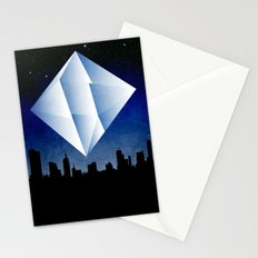 Ramiel Thunder of God Vector Angel Art from Evangelion Anime Series. Stationery Cards