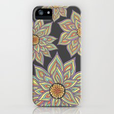 Floral Rhythm In The Dark Slim Case iPhone (5, 5s)