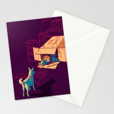 Halt! Who Goes There? Stationery Cards