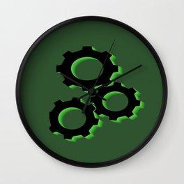 Crank It Up Wall Clock