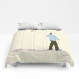 Happy Crimes Comforters