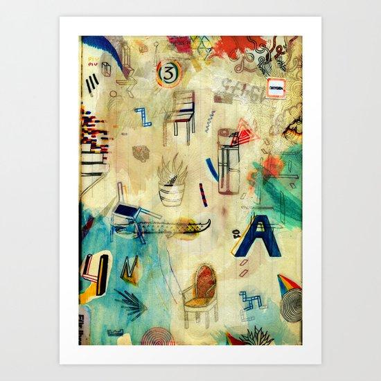 Oxygen Art Print