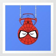 ChibizPop: Spider Art Print