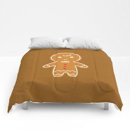 Gingerbread Cookie - Gingerbread Man Comforters