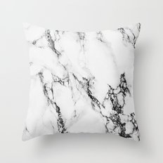 Marble #texture Throw Pillow