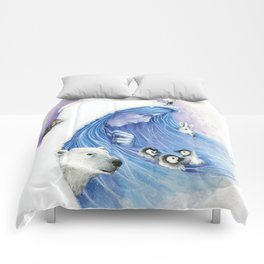 Lady Winter / Dame Hiver Comforters