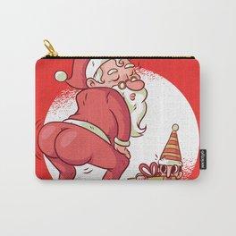 SANTA TWERK FUNNY CHRISTMAS DANCE CARTOON Carry-All Pouch