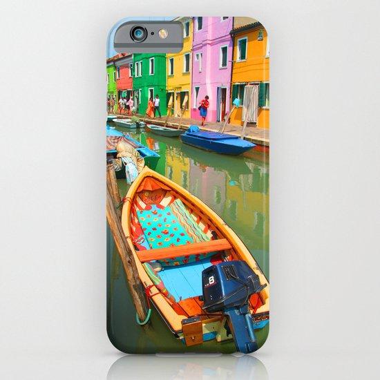 burano, italy - boat iPhone & iPod Case
