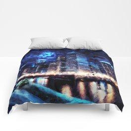 Chicago Panorama Comforters