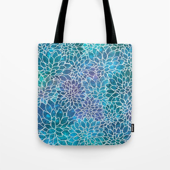 Floral Abstract 10 Tote Bag