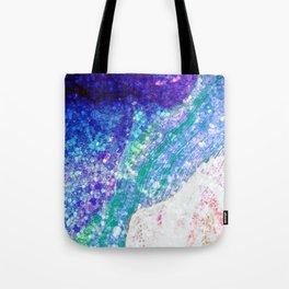 Sleeping Mermaid - Ocean Colors Tote Bag