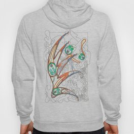 Embryonic Fly Trap Hoody