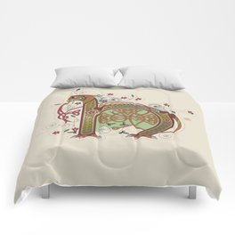 Celtic Initial H Comforters