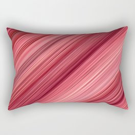 Ambient 33 in Red Rectangular Pillow