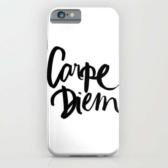 Carpe Diem iPhone & iPod Case