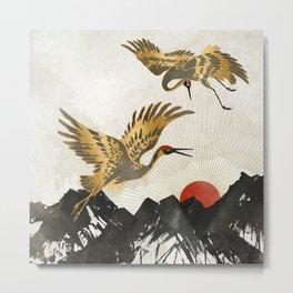 Elegant Flight II Metal Print