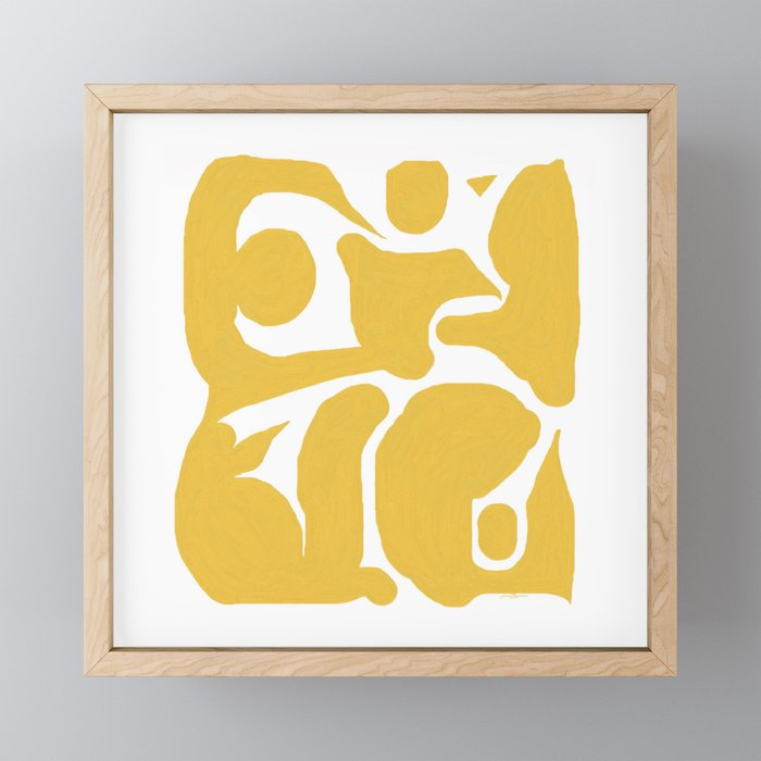 The Dance Framed Mini Art Print