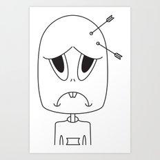 Arrow Head Art Print