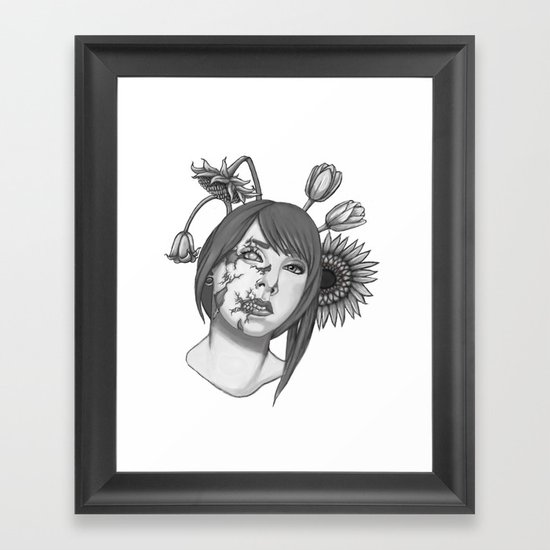 Half of you Framed Art Print