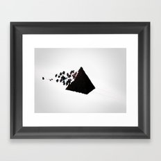 Magic Pyramid Framed Art Print