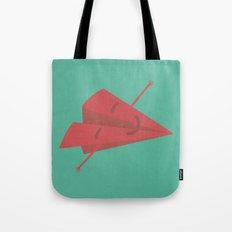 Paper plane Tote Bag