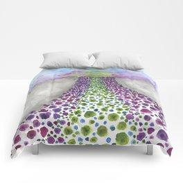 Paths of Color III Comforters