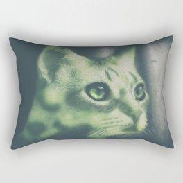 Tristan en verde Rectangular Pillow