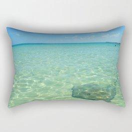 Ocean Stingray Rectangular Pillow