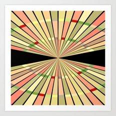 Moving Colours Art Print