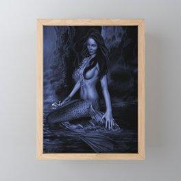 OCEAN SIREN Framed Mini Art Print