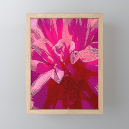 Be her flower Framed Mini Art Print