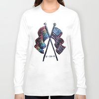 equality Long Sleeve T-shirts featuring Equality by Pajamarai Illustrations
