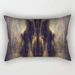 quo vadis  -  memory lane Rectangular Pillow