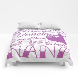Dancing Nana Comforters