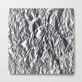 Foiled Metal Print
