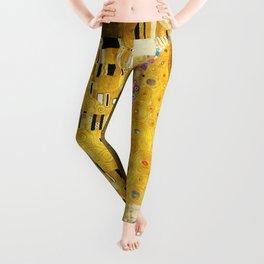 Gustav Klimt The Kiss Leggings
