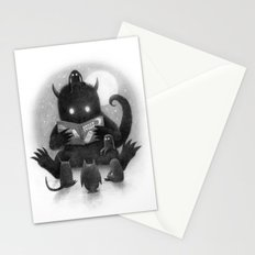 Story Time (black and white option) Stationery Cards
