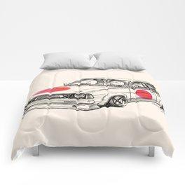 Crazy Car Art 0180 Comforters