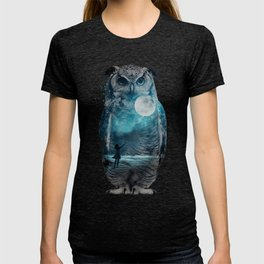 OWL / MOON BALLOON T-shirt