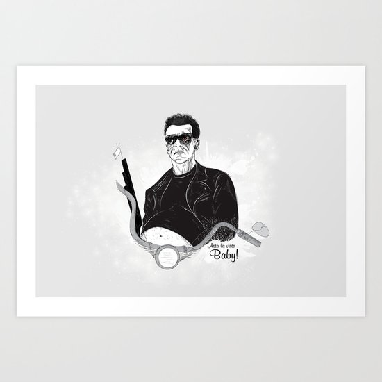 Heroes - The Man Art Print