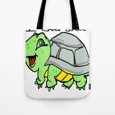 childish turtle  Tote Bag