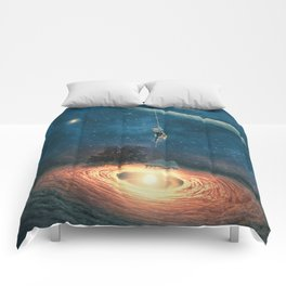 My dream house is in another galaxy Comforters
