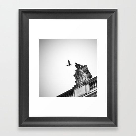 ceuilleur d'étoile Framed Art Print