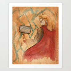 Thunder V2 Art Print