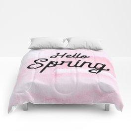 Hello Spring Comforters