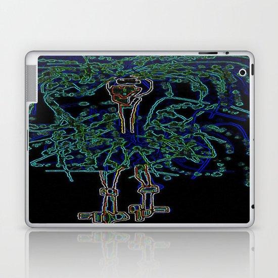 Neon Sally Rand Laptop & iPad Skin