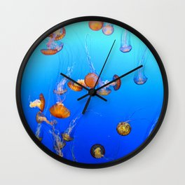 The Jellyfish Wall Clock