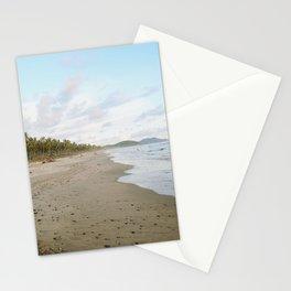 Driftin' On A Palm Tree Beach Stationery Cards