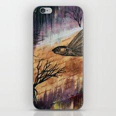 Literary Flying Fish iPhone & iPod Skin